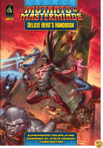 TMutants Masterminds Deluxe Heros Hand