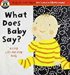 Begin Smart What Does Baby Say? by Begin…