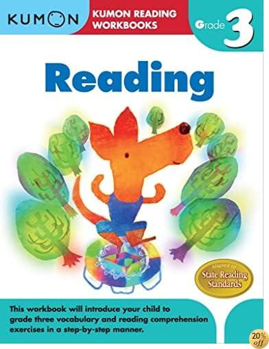 TGrade 3 Reading (Kumon Reading Workbooks)