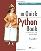 The Quick Python Book, Second Edition by…