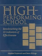 The high-performing school : benchmarking&hellip;