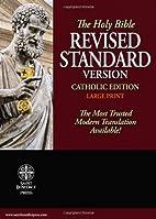 Holy Bible: Revised Standard Version,…