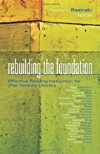 Rebuilding the Foundation: Effective Reading…