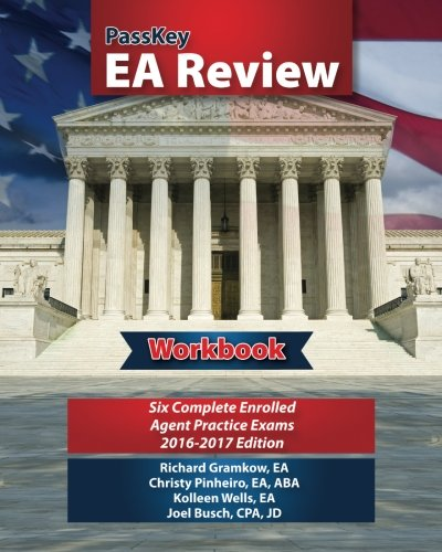 passkey-ea-review-workbook-six-complete-enrolled-agent-practice-exams-2016-2017-edition