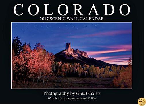 TColorado 2017 Scenic Wall Calendar