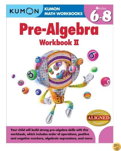 TKumon Pre-Algebra Workbook II (Kumon Math Workbooks)