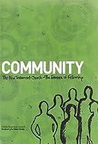 Community Devotional Book by Adam Robinson