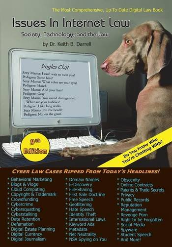 issues-in-internet-law-society-technology-and-the-law-9th-edition