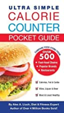 Ultra Simple Calorie Counter Pocket Guide by…