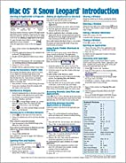 Mac OS X Snow Leopard Quick Reference Guide…