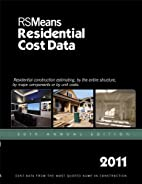 RSMeans Residential Cost Data by Bob Mewis