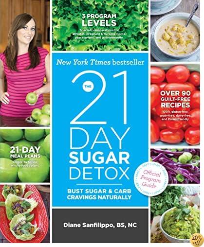 TThe 21-Day Sugar Detox: Bust Sugar & Carb Cravings Naturally