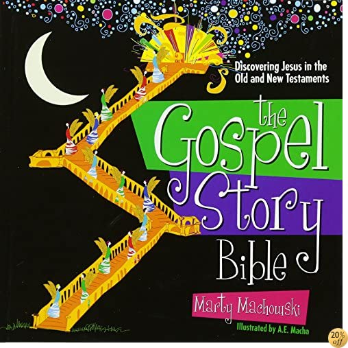 TThe Gospel Story Bible: Discovering Jesus in the Old and New Testaments