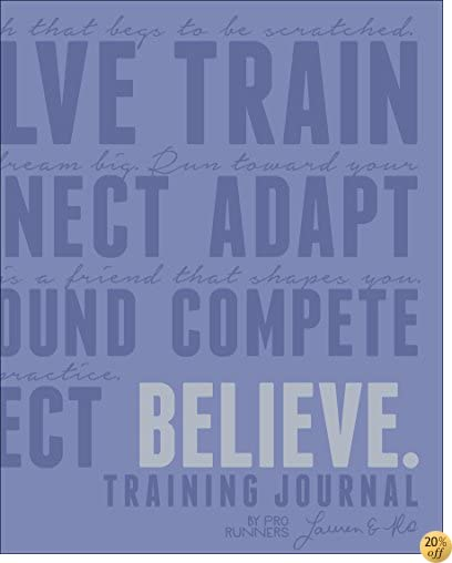 TBelieve Training Journal (Lavender Edition)