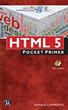 HTML5 Pocket Primer by Oswald Campesato