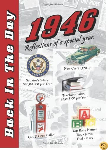 T1946 Back In The Day Almanac -- 24-page Booklet / Greeting Card