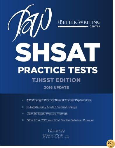 TSHSAT Practice Tests: TJHSST Edition