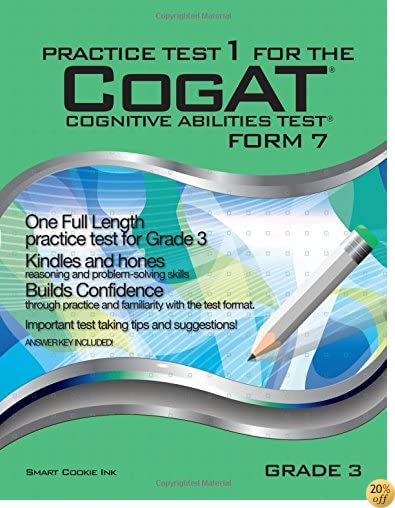 TPractice Test 1 for the CogAT - Form 7 - Grade 3 (Level 9): CogAT - GRADE 3 (Practice Test for the CogAT - Form 7 - Grade 3)