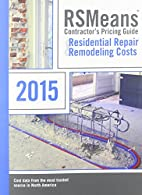RSMeans Contractor's Pricing Guide…