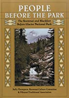 People Before the Park: The Kootenai and…