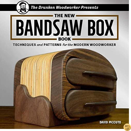TThe New Bandsaw Box Book: Techniques & Patterns for the Modern Woodworker