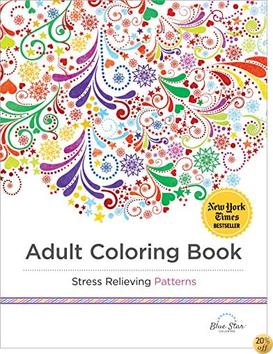 TAdult Coloring Book: Stress Relieving Patterns