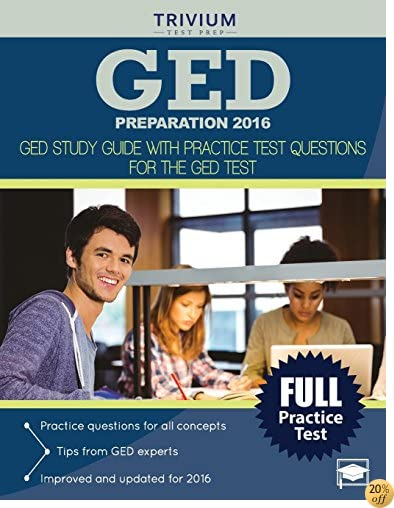 TGED Preparation 2016: GED Study Guide with Practice Test Questions for the GED Test
