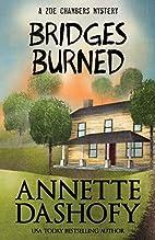 Bridges Burned by Annette Dashofy