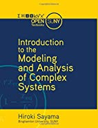 Introduction to the Modeling and Analysis of…