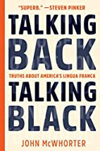 Talking Back, Talking Black: Truths About…
