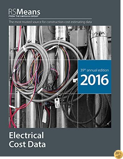 TRSMeans Electrical Cost Data 2016