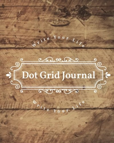 dot-grid-bullet-journal-daily-dated-not-diary-rustic-wooden-large-quarterly-bullet-journal-blank-pages-with-number-150p-8x10