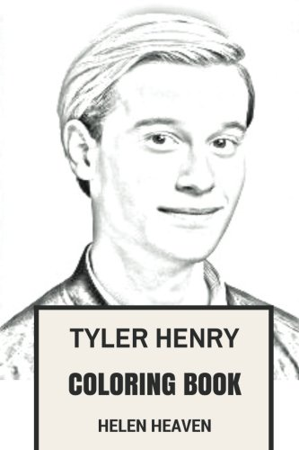 tyler-henry-coloring-book-hollywood-medium-and-clairvoyant-talented-and-cute-ty-inspired-adult-coloring-book-coloring-book-for-adults