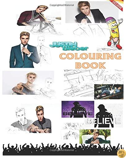 TExclusive Justin Bieber Colouring Book: Company, As Long As You Love Me, Love Me, One Time, Ill Show you, One Less Lonely Girl, Eenie Meenie, All That ... The Mistletoe, Never Say Never, My Worlds ?
