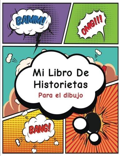 mi-libro-de-historietas-crea-tu-propia-tira-cmica-variedad-de-plantillas-para-dibujar-historietasblank-comic-book-superhroe-spanish-edition