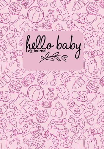hello-baby-log-journal-pink-pregnancy-journal-record-book-diary-keepsake-and-memories-scrapbook-childbirth-checklists-weekly-logs-more-portable-size-parenthood-volume-17