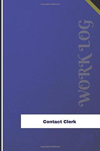 contact-clerk-work-log-work-journal-work-diary-log-126-pages-6-x-9-inches-orange-logs-work-log