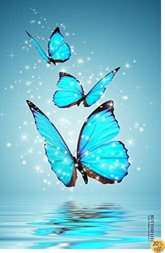Butterflies: Ideal Format Journal #1 (Butterflies Lined Notebook)