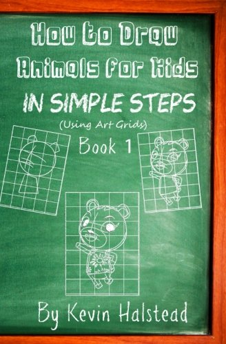 how-to-draw-animals-for-kids-in-simple-steps-book-1-draw-animals-cartoons-step-by-step-for-kids-and-beginners-i-love-to-draw-animals-book-volume-1