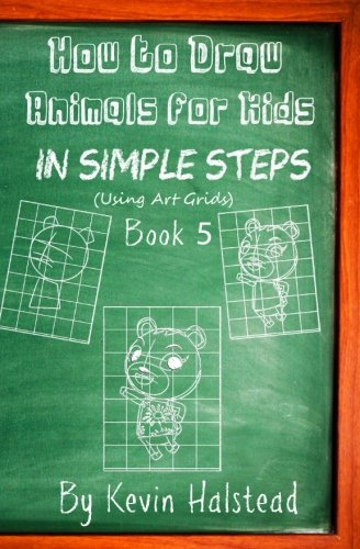 how-to-draw-animals-for-kids-in-simple-steps-book-5-draw-animals-cartoons-step-by-step-for-kids-and-beginners-i-love-to-draw-animals-book-volume-5