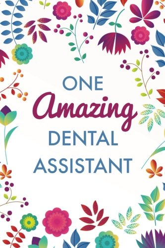 one-amazing-dental-assistant-6x9-journal-purple-blue-floral-lightly-lined-120-pages-perfect-for-notes-journaling-mothers-day-and-christmas