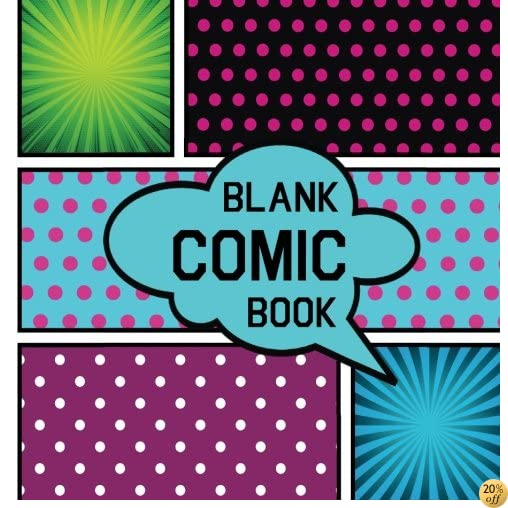 TBlank Comic Book: Drawing Journals Blank Pages: For drawing your own comics, idea and design sketchbook. Comic Panel, 110 pages, size: 8.5 x 8.5 , Variety of Templates ( Blank Comic Sketch Book )