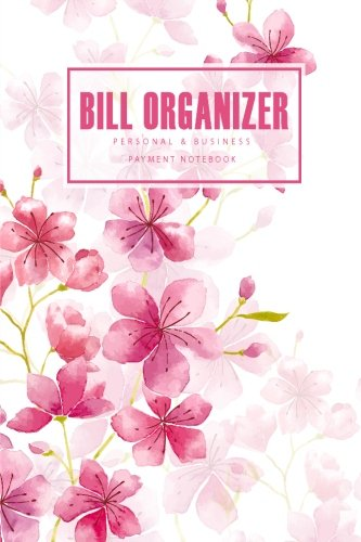bill-organizer-cherry-blossom-watercolor-receipt-organizer-personal-business-payment-not-expenses-log-financial-planner-journal-size-6x9-inches-120-pages-bill-and-receipt-organizer-volume-4