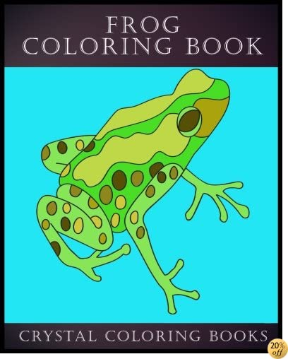 Frog Coloring Book: 30 Simple Frog Line Drawing Coloring Pages (Simple Line Drawings) (Volume 1)