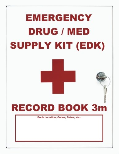 emergency-drug-med-supply-edk-record-book-3m-mid-size-white-cover