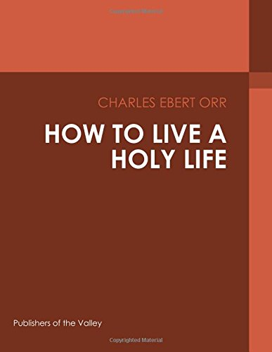 how-to-live-a-holy-life