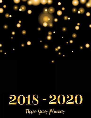 2018-2020-three-year-planner-monthly-schedule-organizer-agenda-planner-for-the-next-3years-36-months-calendar-appointment-not-monthly-planner-volume-1