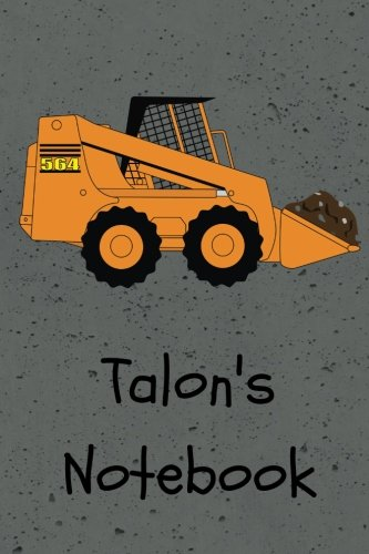 talons-not-construction-equipment-skid-steer-cover-6x9-100-pages-personalized-journal-not-drawing-not-jr-journals-and-nots-for-talon