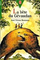 La Bête du Gévaudan by José Féron