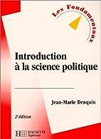 Introduction à la science politique, 2e…